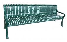 Bench, Diamond Pattern, 98inch