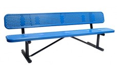 Perforated, Bench  96inch
