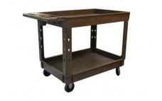 Large 2 Shelf Tray Cart