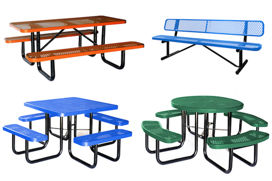 Thermoplastic Picnic Table